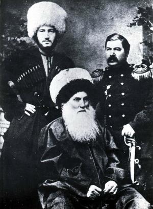 Гази мухаммад и полковник а руновский
